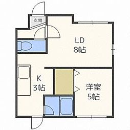 AQUAIII[4階]の間取り