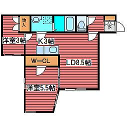 トキワ[3階]の間取り