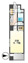 プロシード千代田[9階]の間取り