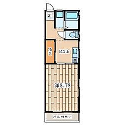 白根3丁目 さくらの庄202[2階]の間取り