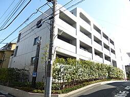 東京都港区白金台2丁目の賃貸マンションの外観