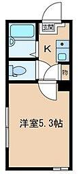BONDS小台[3階]の間取り