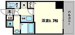 スワンズシティ堺筋本町[11階]の間取り