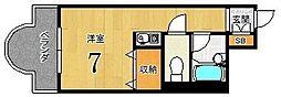 リヴァク鴨川[207号室]の間取り
