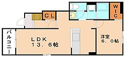 エススタイル I[1階]の間取り