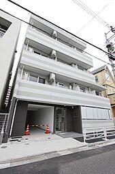 東京都北区西が丘2丁目の賃貸マンションの外観