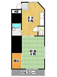 熊谷ビル[2階]の間取り
