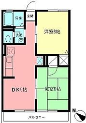 ファミールK,I[2階]の間取り