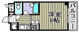 レスポアール[306号室]の間取り