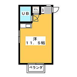 テラスラフィーネ[2階]の間取り