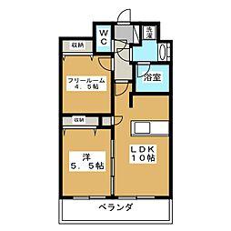 プレサンス京大前[2階]の間取り