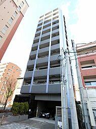 ピュアドーム箱崎アートリア[4階]の外観