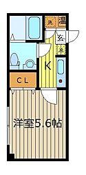 ドミ−ル新座[3階]の間取り