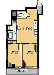メゾン蔵前[7階]の間取り