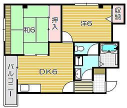 etoile MT2[2階]の間取り