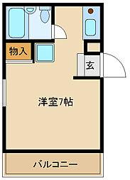 ダイドーメゾン塚口6[1階]の間取り