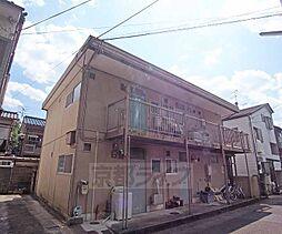京都府京都市左京区修学院千万田町の賃貸アパートの外観