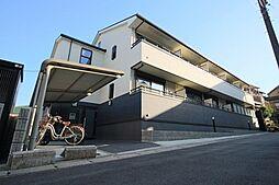 京都府京都市山科区東野南井ノ上町の賃貸アパートの外観