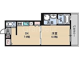 RICHE鶴見[5階]の間取り