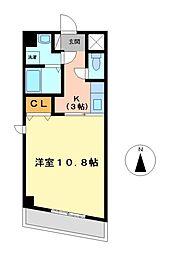 エクセレント名駅南[4階]の間取り