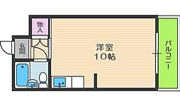 グレイスフル中崎II[6階]の間取り