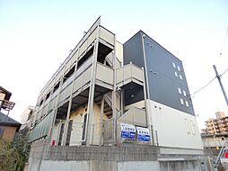 千葉県習志野市本大久保1丁目の賃貸アパートの外観