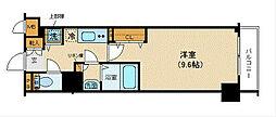 フェニックス新横濱参番館[3階]の間取り