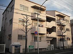 共栄コーポラス[3階]の外観