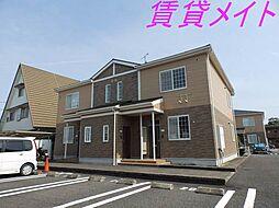 三重県伊勢市神久2丁目の賃貸アパートの外観
