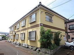 新潟県新潟市東区中木戸の賃貸アパートの外観