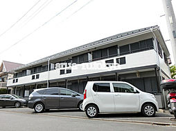 東京都三鷹市井の頭3丁目の賃貸アパートの外観