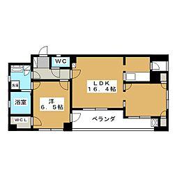 エステムプラザ京都烏丸三条[2階]の間取り