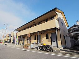 広島県広島市安佐南区長束2丁目の賃貸アパートの外観