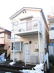 神奈川県川崎市中原区丸子通2丁目の賃貸アパートの外観