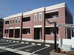 広島県福山市引野町南2の賃貸アパートの外観