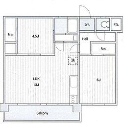 久良岐ヶ丘住宅1号棟[1階]の間取り