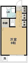 コーポエデン[203号室号室]の間取り