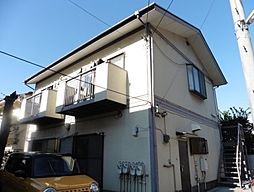 東京都新宿区西新宿4丁目の賃貸アパートの外観