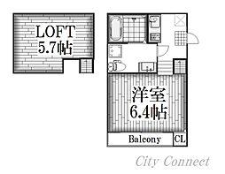 Ottimo黒川[2階]の間取り