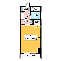 吉野屋ビルリーフコート[8階]の間取り