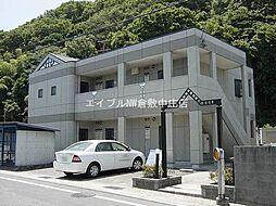 岡山県倉敷市福井丁目なしの賃貸アパートの外観