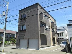 北海道札幌市東区北四十三条東18丁目の賃貸アパートの外観