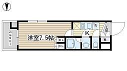 アーリアシティ田端[503号室]の間取り