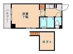 ローレル友泉亭[1階]の間取り