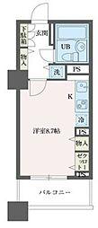 ドゥーエ横浜駅前[5階]の間取り
