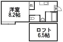 コンパートハウス宮の沢[1階]の間取り