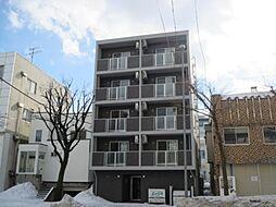 北海道札幌市中央区北一条西25丁目の賃貸マンションの外観