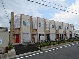 [タウンハウス] 滋賀県栗東市林 の賃貸【滋賀県 / 栗東市】の外観