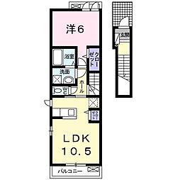 クラールK[2階]の間取り