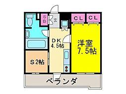 IBIZA SPRINGS[3階]の間取り